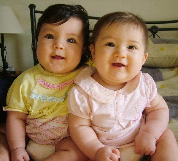 漂亮可爱的混血宝贝们
