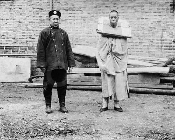 中国古代酷刑真人照片 组图