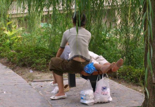 东陵公园男女龌龊事件
