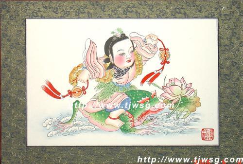 杨柳青年画 好运送大家(组图)-文山小过-我的搜狐图片