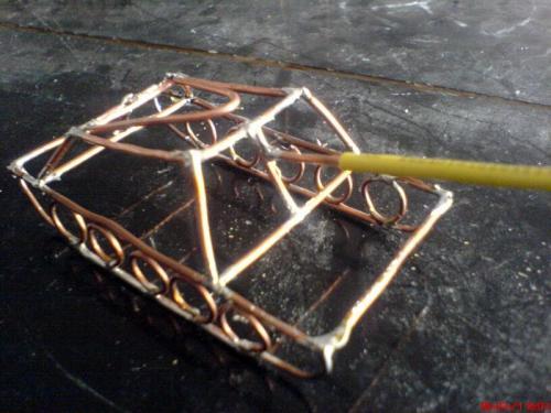 铜丝焊接工艺品 图片合集