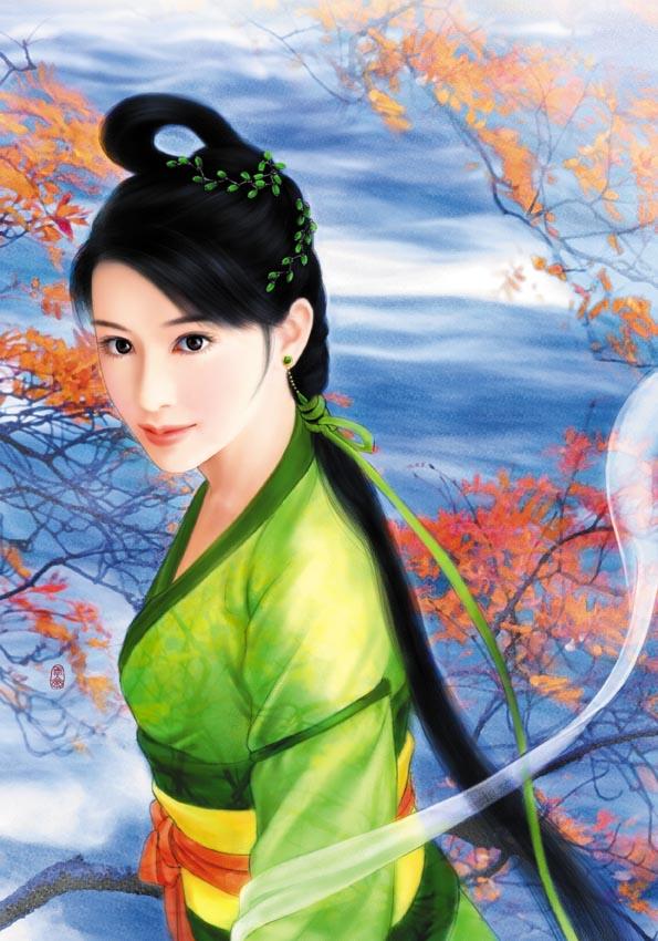 中国古代绝色美女_大旗英雄传吧_百度贴吧
